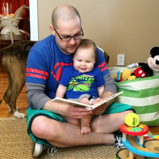 Story time with daddy!