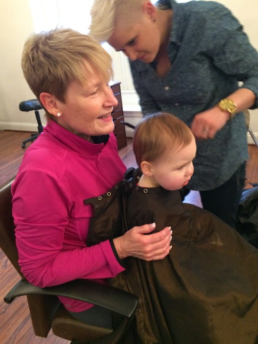First haircut - FINALLY!!!